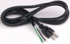 MULTICOMP - SPC13272 - POWER CORD, NEMA5-15P, 6.6FT, BLACK -- 110090
