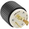 30A Electrical Plug: locking, 480VAC, NEMA L8-30 -- 70830NP