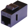 CAT5E RJ45 Insert Coupler Black -- 10-23946