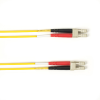10m (32.8ft) LCLC YL OM1 MM Fiber Patch Cable INDR Zip OFNR -- FOCMR62-010M-LCLC-YL - Image