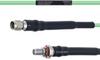 Temperature Conditioned Low Loss SMA Male to SMA Female Bulkhead Cable LL160 Coax in 30 Inch -- FMHR0181-30 -Image