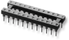 Open-Frame Collet DIP Solder Pin Tail Sockets – Series 518