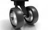 Multi-wheel Kingpinless Casters