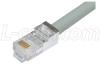 Shielded Cat. 5 USOC-4 Patch Cable, RJ11 / RJ11, 2.0 ft -- TRDU45SCR-2