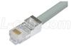 Shielded Cat. 5 USOC-4 Patch Cable, RJ11 / RJ11, 10.0 ft -- TRDU45SCR-10