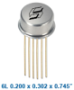 Isolink Phototransistor Hermetic Optocoupler -- MCT4