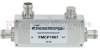 4.1/9.5 Mini DIN Directional Coupler 15 dB Coupled Port From 698 MHz to 2.7 GHz Rated To 200 Watts -- FMCP1067 -Image