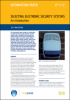 Selecting electronic security systems -- IP1/12
