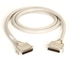 RS-232 Extended-Distance/Quiet Cable with Die-Cast Removable EMI/RFI Hood, DB25, 25-Conductor (12-1/2 Pairs), Male/Male, 25-ft. (7.6-m) -- EBN25C-0025-MM