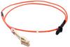 1m LC-MTRJ Duplex Multimode 50/125 Fiber Optic Cable (3.28ft) -- 30LC-MTRJ01 - Image