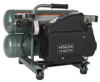 Hitachi 1.35-HP 4-Gallon Twin Stack Air Compressor -- Model EC89