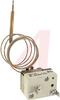 Thermostat; Bulb/Capillary; 140-752 deg.; Adj. set point; SPST, UL 240VAC, 20A -- 70098700