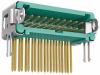 10+10 Pos. Male DIL Horizontal Throughboard Conn. Latches (T+R) -- G125-MH22005L2R - Image