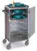 Tray Delivery Cart,Stainless,24x45x61 -- 854