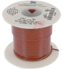 Wire, Hook-Up; 22 AWG; 7/30; 0.016 in.;0.062 in.; -55 degC; 105 degC; Red -- 70136283