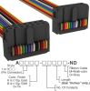 Rectangular Cable Assemblies -- A3DDH-1418M-ND -Image