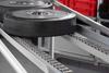 Steel Roller Conveyor D30 with Steel Tyres, bright zinc-plated -- 0.0.650.74 -Image