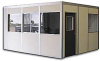 Prefabricated Modular Offices and Enclosures -- ALM100 - Image