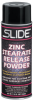 Slide Zinc Stearate White Powder Mold Release Agent - 12 oz Aerosol Can - Paintable - 41012N 12OZ -- 41012N 12OZ
