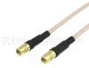 MMCX Jack to MMCX Jack Cable RG316 Coax in 120 Inch -- FMC2424316-120 -Image