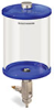 Blue Color Key, Clear View Full Flow Manual Dispenser, 1/2 gal Acrylic Reservoir -- B5165-064ABBW -- View Larger Image