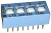 DIP Switches -- 206-214S-ND - Image