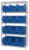 Bins & Systems - MAGNUM Bins (QMS Series) - Wire Shelving Units - WR5-533