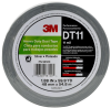 3M DT11 Silver Duct Tape - 48 mm Width x 54.8 m Length - 11 mil Thick - 98120 -- 076308-98120