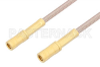 SSMB Plug to SSMB Plug Cable 24 Inch Length Using RG316 Coax -- PE3139-24 -Image