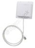 2.4 GHz 8 dBi Flat Patch Antenna - 4ft RP TNC-Jack Connector -- RE09P-RTJ