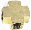 Female Cross Brass Extruded 1/2 in -- VM-140668