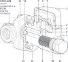 Stainless Steel Thermodynamic Steam Trap for use with Pipeline Connectors -- UTDS46M - Image