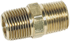 Brass Hex Double Nipple 1 x 1 M - -- VM-140764 - Image