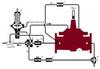 Two-Way Flow Altitude Valve with Solenoid Override -- M127-31, M1127-31