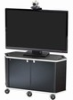 Video Furniture Int'l Package G - Monitor Cart and Extra Large Monitor Mount for 52