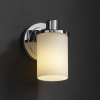 FSN-8511-10-OPAL-CROM Sconces-Single Glass -- 671868