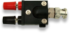 BNC Male to Double Binding Post, Adapter -- 9410 -Image