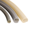 Highly Flexible Vacuum and Pressure Tubing Made of PUR, Reinforced with PVC Spiral - Image