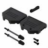 D-Sub, D-Shaped Connectors - Backshells, Hoods -- AE11003-ND