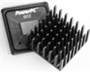 Omnidirectional Pin Fin Heat Sink for BGAs and PowerPC™ -- 658 Series