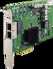 2-port 10/100/1000 BaseT(X) 802.3af (PoE) Compliant Ethernet ports, PCI Express Communication Card -- PCIE-1672E - Image