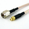 SMA Male to MMCX Plug Cable RG-316 Coax in 24 Inch -- FMC0209315-24 -- View Larger Image