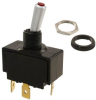 Paddle-Handle Toggle Switch SPST On-Off maintained 15A/125Vac 10A/250Vac 15A/28Vdc -- 78020695384-1