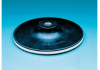 3M 09451 Medium Black Disc Pad - 8 in DIA - 5/16 in Thick - 5/8 - 11 Internal Thread Attachment -- 048011-09451 -- View Larger Image