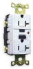 GFCI Receptacle,20A,Industrial,White -- 1GBX3