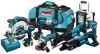 MAKITA 18 V LXT Li-Ion 9 Piece Combo Kit -- Model# LXT902