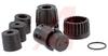Connector; #2; Solder Cup; 2; Socket; Gold over Nickel (Standard); 600 V; Nylon -- 70025426