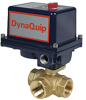 Electrically Actuated 3-Way Brass Ball Valve -- EYHG Series