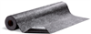 PIG Grippy Floor Mat Black Adhesive Backing; Poly-Backed, Mediumweight, (5) 48