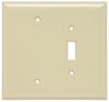 Combination Openings, 1 Toggle Switch & 1 Blank -- SPO113I - Image